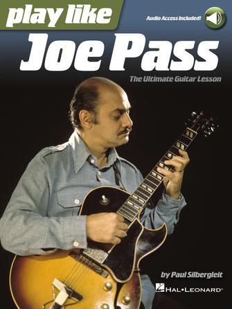 Product Cover for Play Like Joe Pass: The Ultimate Guitar Lesson Book with Online Audio