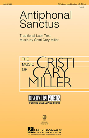 Antiphonal Sanctus : 2-Part : Cristi Cary Miller : Cristi Cary Miller : Sheet Music : 00142433 : 888680048860