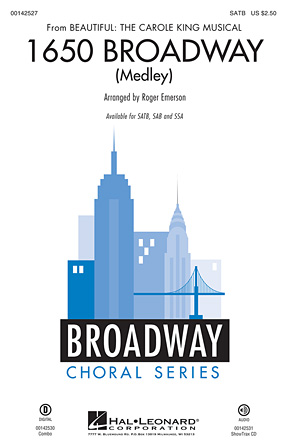 1650 Broadway : SATB : Roger Emerson : Carol King : Beautiful: The Carole King Musical : Sheet Music : 00142527 : 888680049348