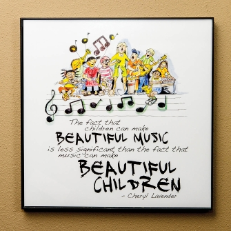 Product Cover for Beautiful Music, Beautiful Children Print