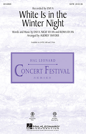 White Is in the Winter Night : SATB : Audrey Snyder : Enya : Sheet Music : 00142820 : 888680050825