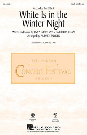 White Is in the Winter Night : SAB : Audrey Snyder : Enya : Sheet Music : 00142821 : 888680050832