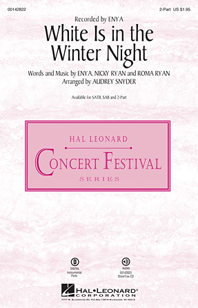 White Is in the Winter Night : 2-Part : Audrey Snyder : Enya : Sheet Music : 00142822 : 888680050849