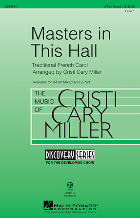 Masters in This Hall : 3-Part : Cristi Cary Miller : Sheet Music : 00143111 : 888680052652