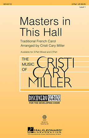 Masters in This Hall : 2-Part : Cristi Cary Miller : Sheet Music : 00143112 : 888680052669