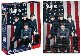 Product Cover for Beatles USA – 1500-Piece Puzzle