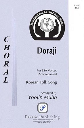 Doraji : SSA : Yoojin Muhn : Sheet Music : 00143394 : 888680055875
