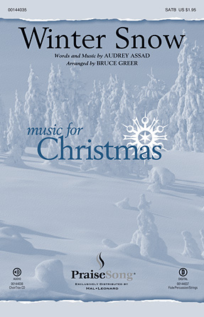 Winter Snow : SATB : Bruce Greer : Audrey Assad : Chris Tomlin : Sheet Music : 00144035 : 888680060480