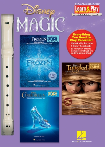 Product Cover for Disney Magic – Learn & Play Recorder Pack