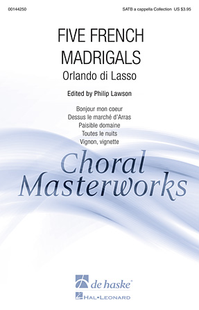 Product Cover for Five French Madrigals