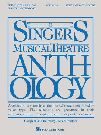 Singer's Musical Theatre Anthology – Volume 6