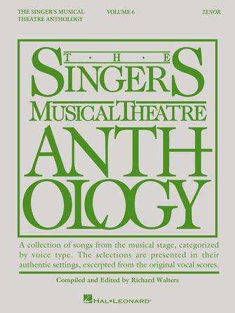 Product Cover for Singer's Musical Theatre Anthology – Volume 6