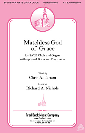 Product Cover for Matchless God of Grace