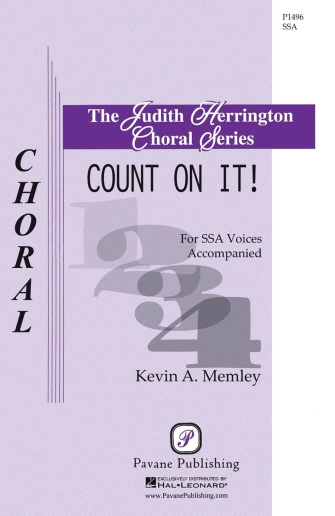 Count on It! : SSA : Kevin Memley : Kevin Memley : Sheet Music : 00145652 : 888680066680