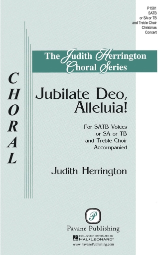 Jubilate Deo, Alleluia! : SATB : Judith Herrington : Judith Herrington : Sheet Music : 00145661 : 888680066772