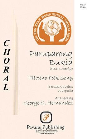 Paruparong Bukid : SSAA : George Hernandez : Sheet Music : 00145668 : 888680066840
