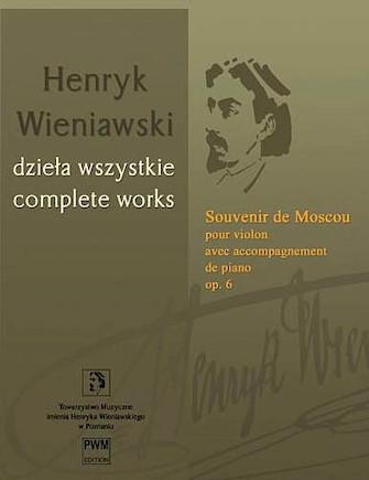 Product Cover for Souvenir de Moscou, Op. 6 – Violin with Piano Accompaniment