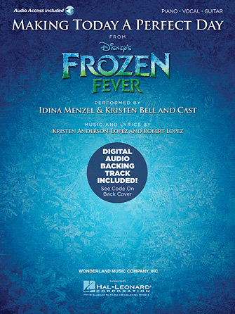 Product Cover for Making Today a Perfect Day (from Frozen Fever)