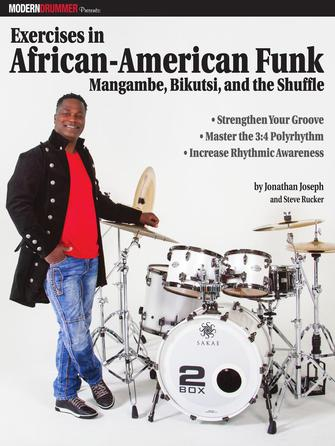 Product Cover for Modern Drummer Presents Exercises in African-American Funk