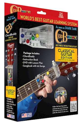 Product Cover for ChordBuddy Classical Guitar Learning Boxed System