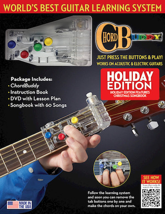 ChordBuddy Guitar Learning System – Holiday Edition