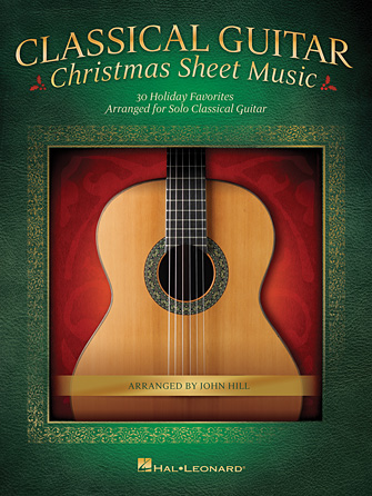 Product Cover for Classical Guitar Christmas Sheet Music