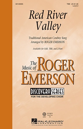 Red River Valley : TBB : Roger Emerson : Sheet Music : 00149095 : 888680079710