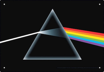 Product Cover for Pink Floyd – Dark Side of the Moon – Tin Sign
