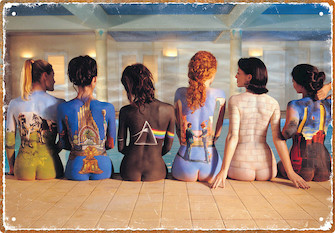 Product Cover for Pink Floyd – Back Art – Tin Sign