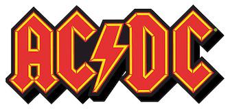 AC/DC Logo – Chunky Magnet