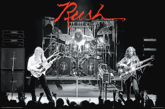 Rush – Hemispheres – Wall Poster