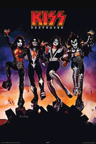 Product Cover for Kiss – Destroyer – Wall Poster