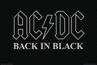 Product Cover for AC/DC – Back in Black – Wall Poster