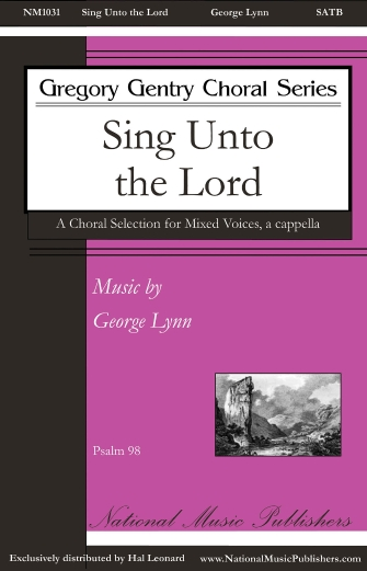 Product Cover for Sing unto the Lord