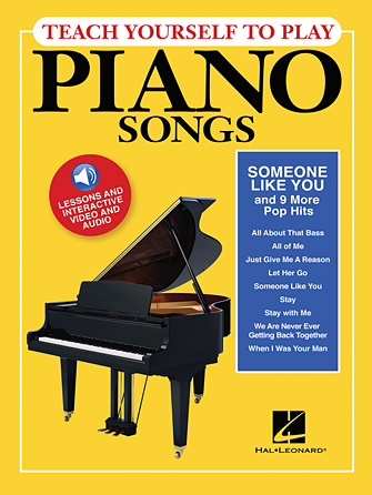 "Product Cover for Teach Yourself to Play Piano Songs: ""Someone like You"" & 9 More Pop Hits"