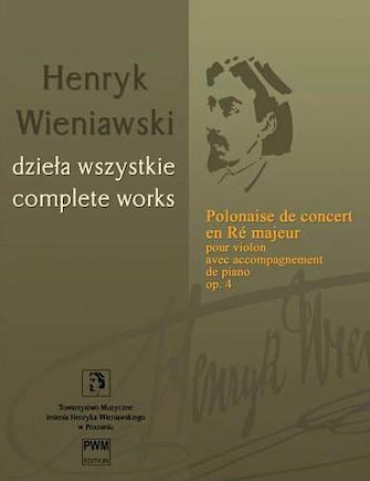 Product Cover for Polonaise de concert en Ré majeur Op. 4