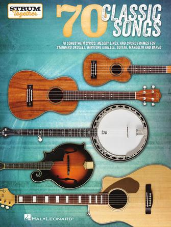 Product Cover for 70 Classic Songs – Strum Together