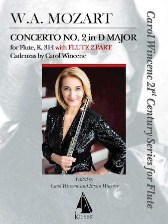 Product Cover for Concerto No. 2 in D Major for Flute, K. 314
