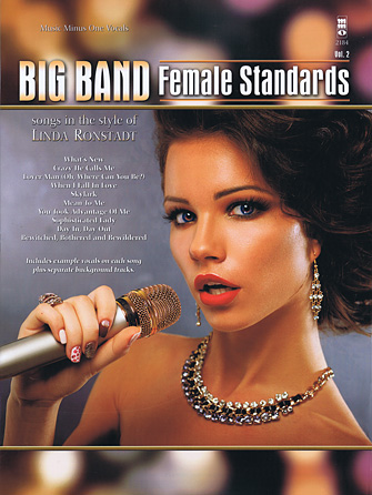Product Cover for Big Band Standards for Females – Volume 2