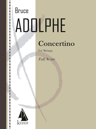 Product Cover for Concertino for Strings - Full Score
