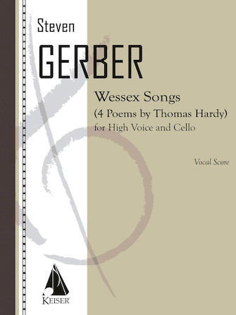 Product Cover for Wessex Songs: Four Poems of Thomas Hardy for Voice and Cello - Performance Score