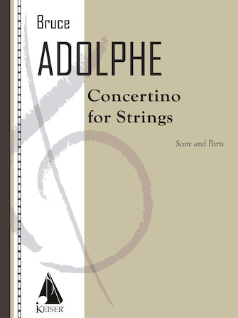 Product Cover for Concertino for Strings - Score and Parts