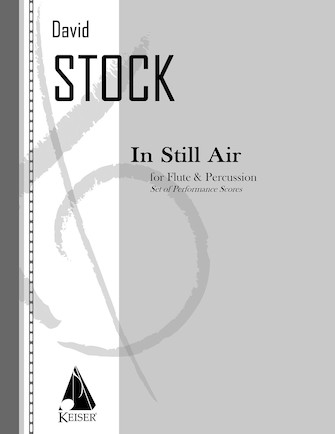 Product Cover for In Still Air for Flute and Percussion - Two Performance Scores