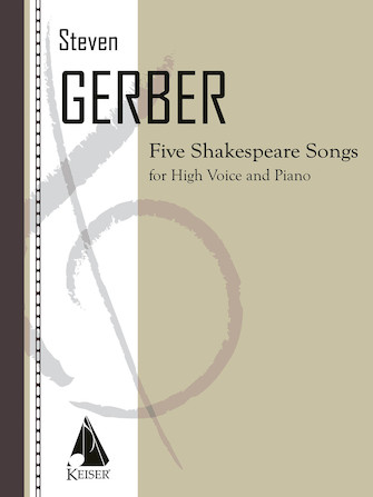Product Cover for Five Shakespeare Songs for Soprano and Piano
