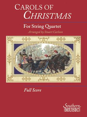 Product Cover for Carols Of Christmas For String Quartet Full Score