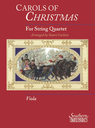 Product Cover for Carols Of Christmas For String Quartet Viola Book Only Oart