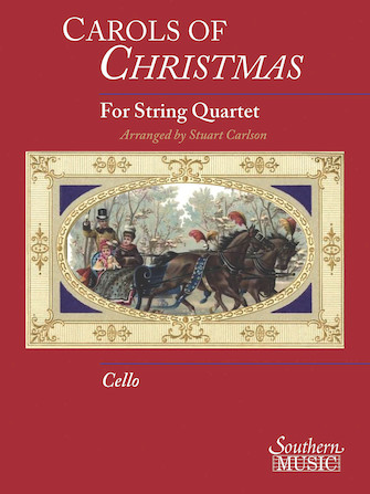 Product Cover for Carols Of Christmas For String Quartet, Cello Book Only