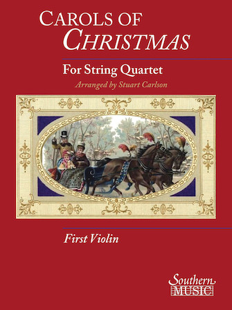 Product Cover for Carols Of Christmas For String Quartet, Violin 1 Book