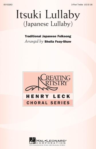 Itsuki Lullaby : SSA : Sheila Feay-Shaw : Sheet Music : 00153263 : 888680095666