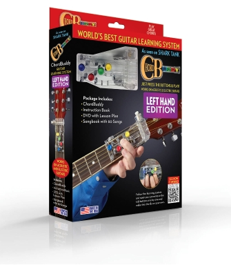 Product Cover for ChordBuddy Left-Handed Guitar Learning Boxed System